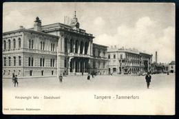 Tampere, Tammerfors, Um 1905, Kaupungin Talo, Stadshuset, Emil Lyytikaisen, Kirsjauppa - Finnland
