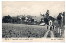 Ghoy - Panorama 25 Septembre 1907 - Lessines