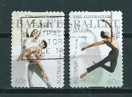 2012 Australia Complete Set Ballet,self-adhesive Used/gebruikt/oblitere - 2010-... Elizabeth II