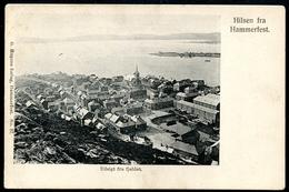 Hammerfest, Hilsen Fra, Um 1905, Udsigt Fra Fjeldet., G. Hagens Forlag - Norwegen
