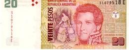Argentina P.355 20 Pesos 2012  E Unc - Argentina