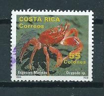 1994 Costa Rica Krab,crab Used/gebruikt/oblitere - Costa Rica