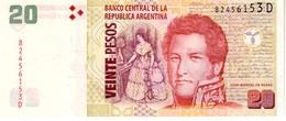 Argentina P.355 20 Pesos 2014  D  Unc - Argentinië