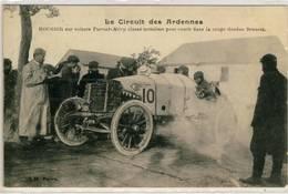 Circuit Des Ardennes- Boursier Sur Voiture Turcat,Coupe Gordon Bennett - Sport Automobile