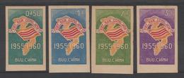 SOUTH VIETNAM . NON DENT / IMPERF  FLAG / MAP  Yvert  N°146/9 **MNH  See 2 Scans  Rèf  146 - Vietnam