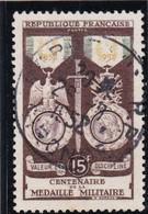 - A .1952 -OBL.- Y.T. N° 927 - - France