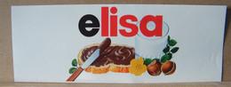 ADESIVI NUTELLA NOMI, ELISA - Nutella