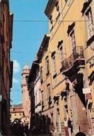 Cartolina Pontremoli Palazzo Dosi Animata 1983 - Massa