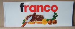 ADESIVI NUTELLA NOMI, FRANCO - Nutella