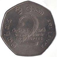 1976 Sri Lanka 2 Rupees (5th Non-Aligned Summit Conference)   Copper-Nickel Circulated Coin [#0039] - Sri Lanka