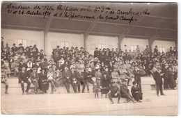 CPA RHONE.VILLEURBANNE.HIPPODROME DE GRAND CAMP.FETES HIPPIQUES DU 21 ET 28 OCTOBRE 1921.CARTE PHOTO - Villeurbanne