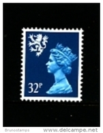 GREAT BRITAIN - 1988  SCOTLAND  32 P.  MINT NH   SG  S77 - Regionali