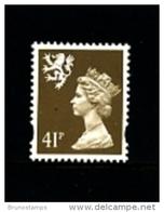 GREAT BRITAIN - 1993  SCOTLAND  41  P.  MINT NH   SG  S88 - Regionali