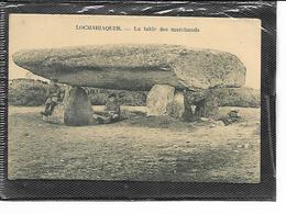 56-LOCMARIAQUER-Une Vue Animée De La Table Des Marchands- *Dol-ar-March'adourian - Locmariaquer