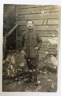 Carte Photo GUSTROW Kriegsgefangenenlager Henri Hamoy 205 RI Guerre 14-18 WWI Prisonnier Lisieux - Weltkrieg 1914-18