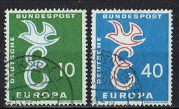 BRD 1958 // Mi. 295/296 O (M.022..976) - Europa-CEPT