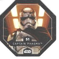 JETON LECLERC STAR WARS   N° 51 CAPTAIN PHASMA - Power Of The Force