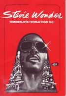 - Flyer - Stevie Wonder - Palais Des Sports. Grenoble - 1981 - - Music & Instruments