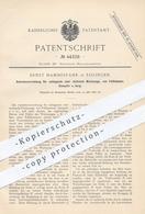 Original Patent - Ernst Hammesfahr , Solingen , 1887 , Antrieb Für Fallhammer , Stampfer , Hammer , Werkzeug | Metall - Historische Dokumente