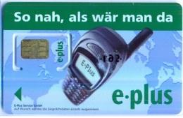 GERMANY  Gsm: GER15 E-PLUS So Nah Als War Man Da Nokia Phone MINT - Germany