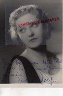 GRANDE PHOTO ORIGINALE MARIE GLORY-ACTRICE CINEMA-1905 MORTAGNE AU PERCHE-2009 CANNES-ET DIEU CREA LA FEMME-DEDICACEE - Fotos Dedicadas