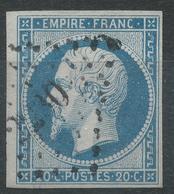 Lot N°42554  N°14A, Oblit PC 2230 Navarrenx, Basses-Pyrénées (64), Ind 5, Belles Marges - 1853-1860 Napoléon III
