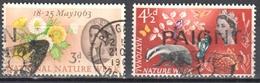 Great Britain 1963 - Mi.357-58y - Phosphor Band - Used - Gebruikt