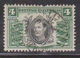 BRITISH HONDURAS Scott # 118 Used - KGVI & Local Products - British Honduras (...-1970)