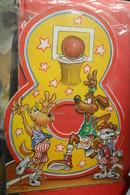 Basket Greeting Card - Sports