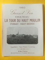 8197 - Château La Tour Du Haut Moulin 1950 Cussac Haut-Médoc - Bordeaux