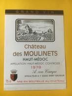8205 - Château Des Moulinets   1978 Haut Médoc - Bordeaux