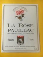 8206 - La Rose 1978 Pauillac - Bordeaux