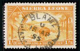 SIERRA LEONE 1944 - From Set Used - Sierra Leone (...-1960)