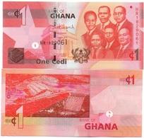 Ghana - 1 Cedi 2015 UNC Ukr-OP - Ghana