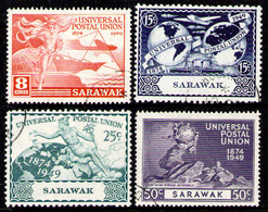 SARAWAK 1949 - Set Used - Sarawak (...-1963)