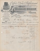 Reims - Dubois-Oudin - Coffres-forts Réfractaires - 1909 - 1900 – 1949