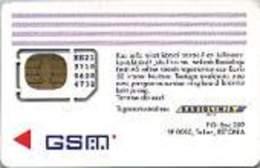ESTONIA : EST34  PIC GSM/256 +many Text 9707 (mini/micro/nano) MINT - Estonia