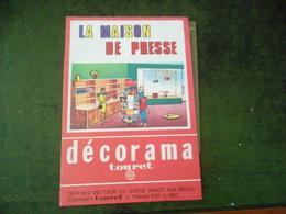 LA MAISON DE PRESSE DECORAMA TOURET  AVEC PAGE DE DECALCOMANIES - Creative Hobbies
