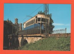 PL/2  LAON LE TRAMWAY AISNE // Pont - Chemin De Fer