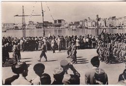 Rare Cpa 1944 Marseille Défilé Du 3e RTA - 1939-45