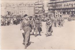 Rare Cpa 1944 Marseille Défilé Des Goumiers - 1939-45