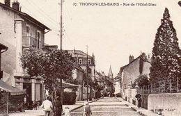 THONON LES BAINS Rue De L'Hôtel Dieu - Thonon-les-Bains