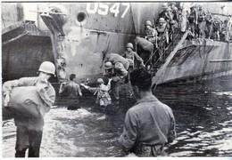 Rare Cpa 15 Aout 1944 Débarquement Des Troupes Françaises Sur La Plage De St Raphael - 1939-45
