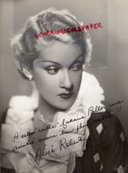 GRANDE PHOTO ORIGINALE ALICE ROBERTE-ACTRICE CINEMA-BELGIQUE 1906-1985- LOULOU-DESTIN HABSBOURG-DEDICACEE - Foto Dedicate