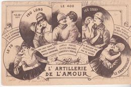 Rare Cpa 'artillerie De L'amour - 1914-18