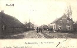 Bocholt - De Kanaalstraat - La Rue Du Canal  (animatie, D. Hendrix, 1903) - Bocholt