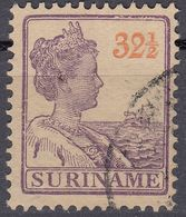 SURINAME - 1922 - Yvert  97 Obliterato. - Suriname ... - 1975