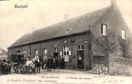 Bocholt - Het Postbureel - Le Bureau Des Postes (top Animatie, Malle Poste Stamlijn ? D. Hendrix, 1903) - Bocholt