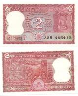 India - 2 Rupees Pick 53Ac UNC W/holes Ukr-OP - Indien