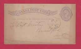 CANADA  // Entier Postal  //  1886 - 1860-1899 Regering Van Victoria